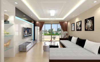英伦尊邸95平米简约欧式设计效果图