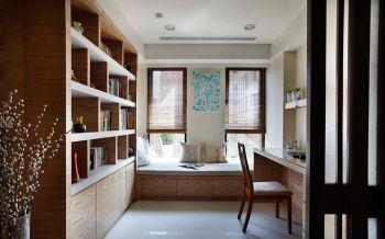 书房榻榻米现代风格装潢设计图片