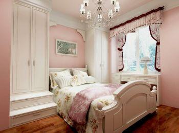 岸上玫瑰130平简欧风格三居室装修效果图