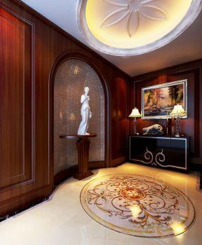 沁雅花园欧式古典风别墅装修设计图