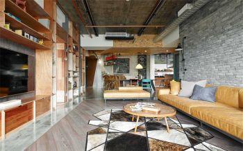 后现代风格90平米2房1厅房子装饰效果图