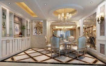 本案采用欧洲贵族城堡式风格,适度的张扬和风格的显现使得整个室内空间充满了贵族的体验感,也让这个第二居所给人带来更多的想象和探索的乐趣.