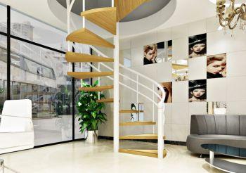青岛审美理发店楼梯装饰设计