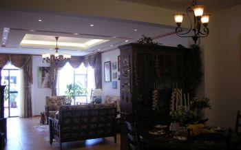 东南亚风格134平米4房1厅房子装饰效果图