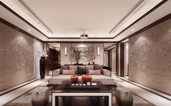 中式风格140平米3房1厅房子装饰效果图