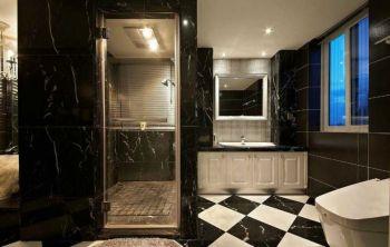 2019现代欧式卫生间装修图片 2019现代欧式洗漱台装饰设计