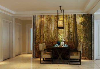 北京瑞海家园现代时尚三居室装修效果图