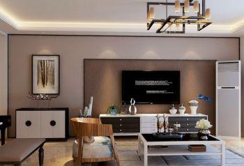 北京润枫水尚现代二居室装修效果图