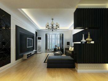现代简约风格时尚三居装修效果图