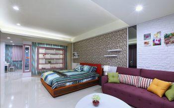 卧室白色地板砖现代风格装饰效果图