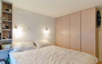 卧室黄色衣柜现代风格装饰设计图片