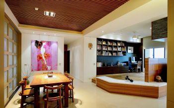 日式风格100平米3房1厅房子装饰效果图