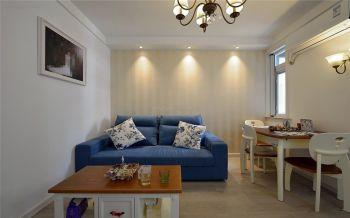地中海风格精致三居装修案例图