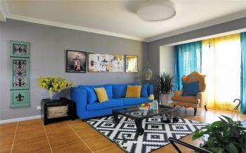 二居室家庭多彩混搭装修案例图