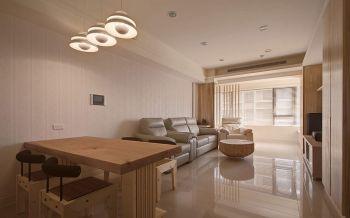 简约风格木质家装两居装修效果图