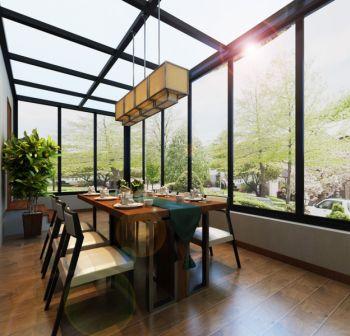 中式风格小四合院家居装修效果图