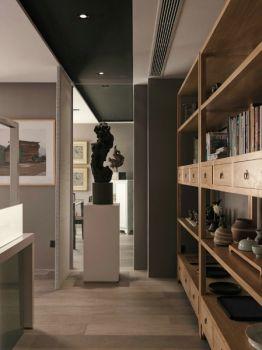 清雅办公室走廊设计图片