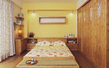 日式风格70平米两室两厅室内装修效果图