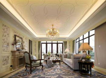 法式风格120平米4房1厅房子装饰效果图
