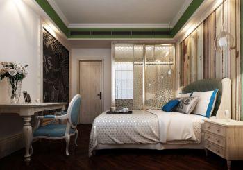 卧室白色推拉门混搭风格装修图片