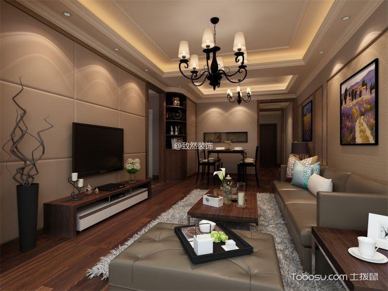 2021现代中式90平米装饰设计 2021现代中式套房设计图片