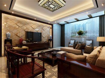 中式风格100平米套房房子装饰效果图