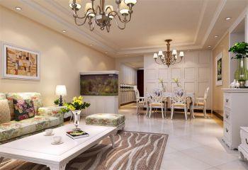 简欧风格150平4房1厅房子装饰效果图