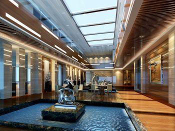 中天国际售楼中心过道装饰图片