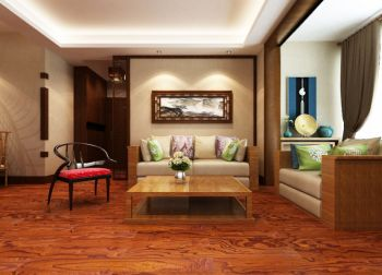 2019中式70平米装修效果图大全 2019中式二居室装修设计