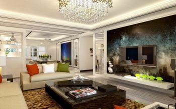 【现代客厅】现代风格