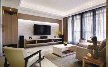现代简约风格舒适两居装修效果图