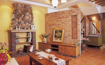 美式混搭风格自由小别墅装修效果图