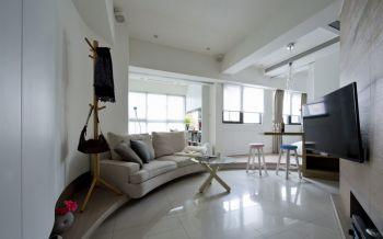 北欧风格40平米1房1厅房子装饰效果图