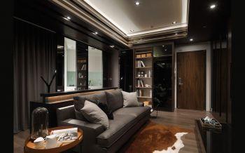 现代风格50平米公寓房子装饰效果图