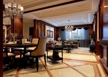 古典风格150平米四室两厅室内装修效果图