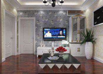 欧式风格70平米一室两厅室内装修效果图