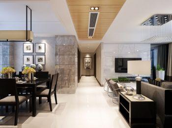 简欧风格150平米大户型室内装修效果图