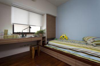 儿童房地板砖现代简约风格装饰设计图片
