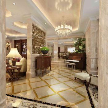 玄关地板砖欧式风格装潢效果图