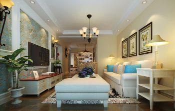 混搭风格85平米2房2厅房子装饰效果图
