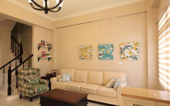 美式风格120平米3房1厅房子装饰效果图