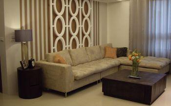 简约风格50平米1房1厅房子装饰效果图