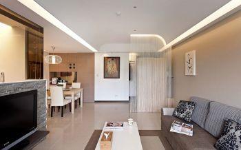 简约风格80平米2房1厅房子装饰效果图