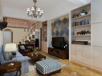 美式风格80平米2房1厅房子装饰效果图