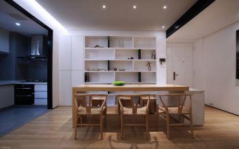 恒威君和苑现代纯净三居室装修效果图