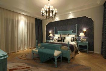 东南亚卧室窗帘装修美图