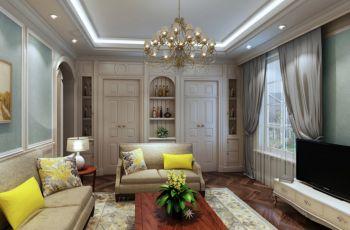 法式海风格150平米4房1厅房子装饰效果图