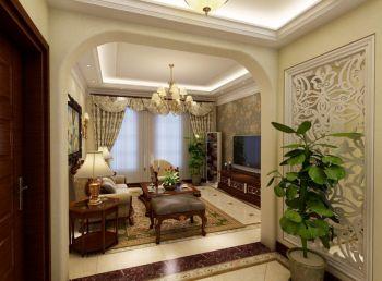 三居室美式风情装修效果图
