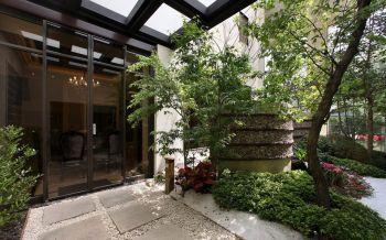现代欧式风格180平米别墅房子装饰效果图