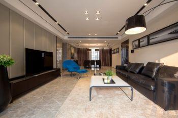 现代简约风格130平米3房1厅房子装饰效果图